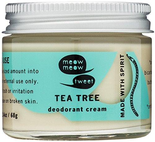 Tea Tree Deodorant Cream