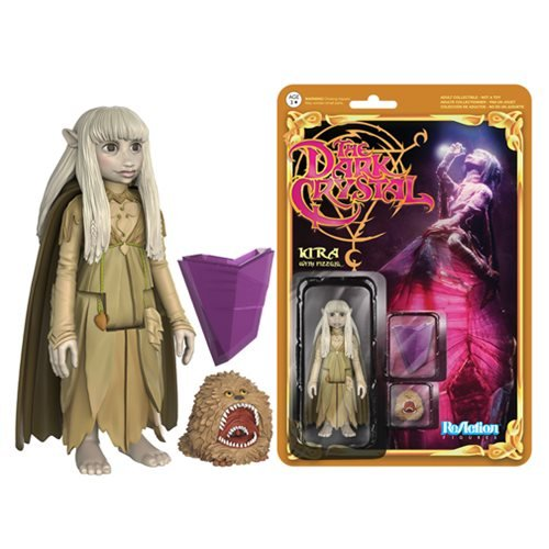 Dark Crystal Kira and Fizzgig ReAction 3 3/4-Inch Retro Action Figure