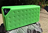Krazilla Bluetooth Speaker with Built-in Microphone, USB and TF Card (Mini Micro Card), Green