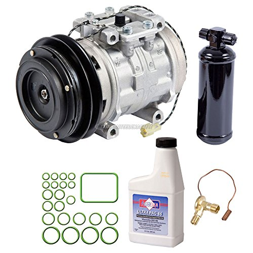 OEM AC Compressor w/A/C Repair Kit For Toyota Pickup 1984 1985 1986 1987 - BuyAutoParts 60-84649RN NEW ()