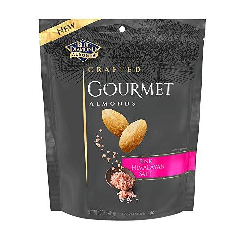 Blue Diamond Gourmet Almonds, Pink Himalayan Salt, 10 Ounce ()