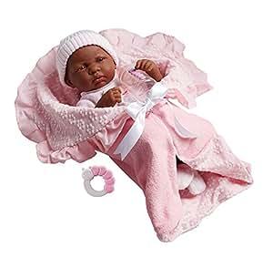 Amazon Com Jc Toys 18783 African American La Newborn 15 5