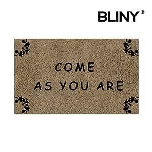 """bliny Felpudo para interiores/exteriores Come As You Are baño/cocina Decor Welcome alfombra Felpudo–30""""(L) X 18(W) pulgadas"""