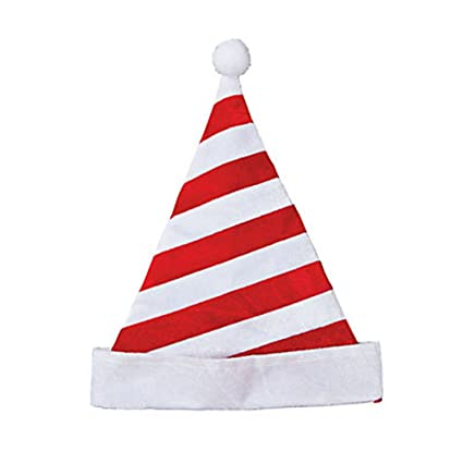 Christmas Candy Cane.Christmas Candy Cane Stripe Santa Hat