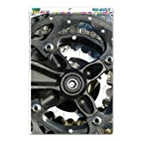 Graphics and More Bicycle Bike Gears Wheels