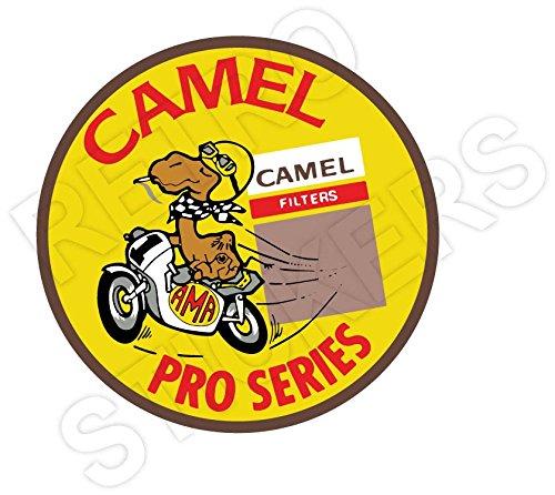 Camel Vintage Retro Racing Sticker product image