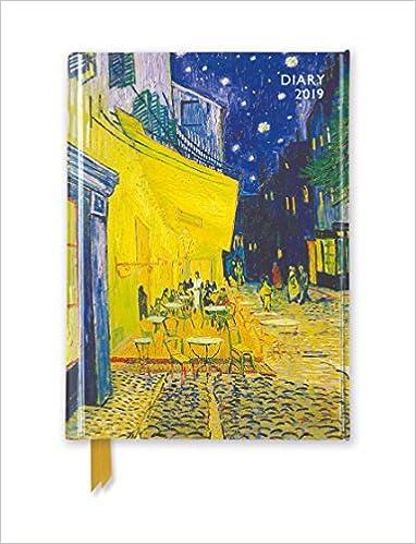 Van Gogh - Cafe Terrace Pocket Diary 2019: Amazon.es: Flame ...