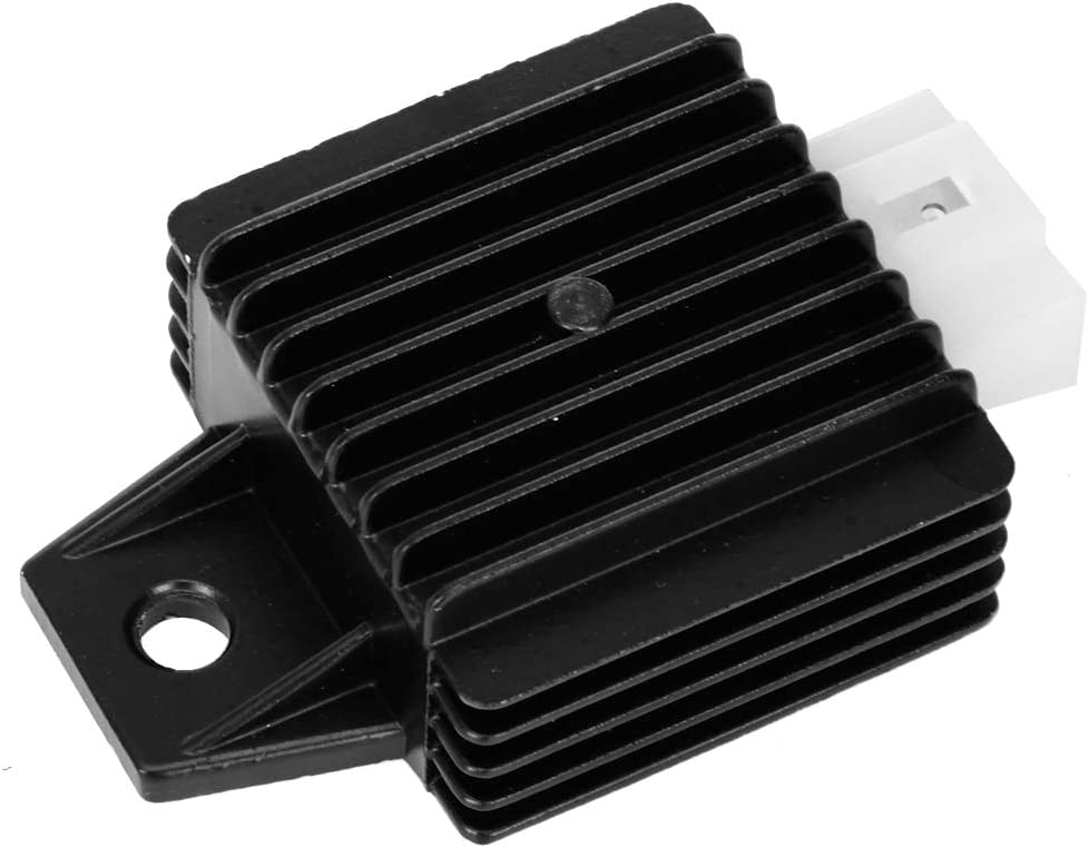 KESOTO Voltage Regulator Rectifier 4 Pins 12V Gy6 Scooter Atv Moped 50//110//125//150 Cc