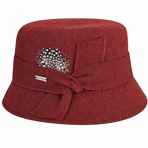 (Betmar Women's Laurel Wool Bucket Hat, Spice, One Size)