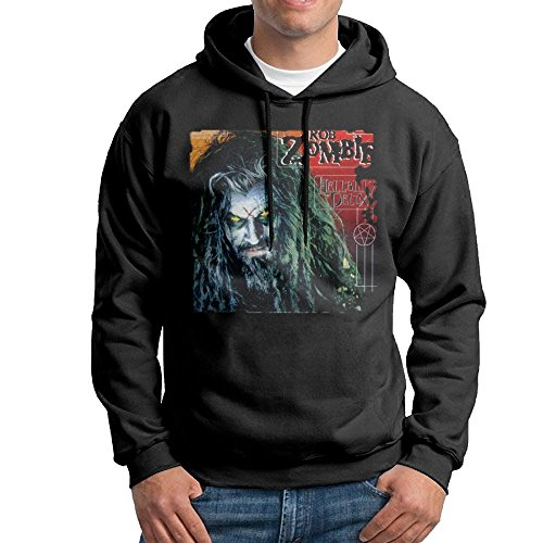 Matta Men Rob Zombie Casual Hoodies Sweatshirt XXL Black -