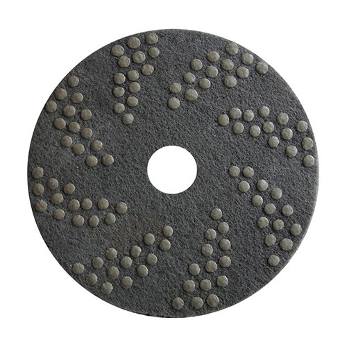 Concrete DNA Resin Satellite Pads | Double Sided Diamond Floor Polishing Pads | 20quot 30 Grit