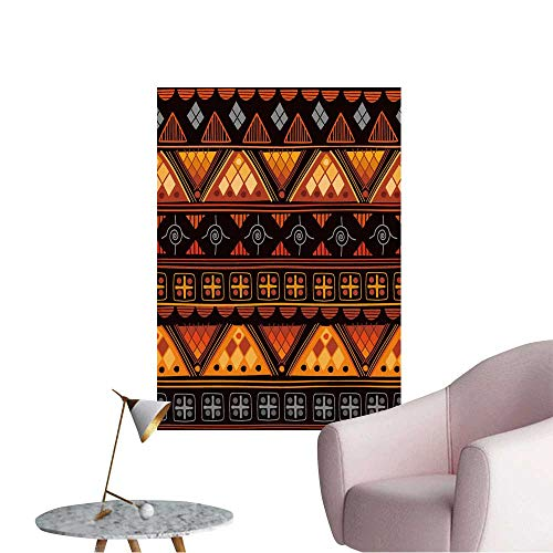 Wall Art Prints Tribal Seamless Pattern It can be Used for Cloth,Jackets,Bags,notebooks,Cards, for Living Room Ready to Stick on Wall,12