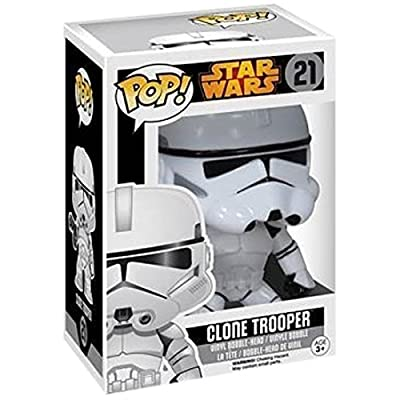 POP! Star Wars Clone Trooper Vinyl Figure Standard: Toys & Games