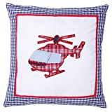 Helicopter Pillow - Red