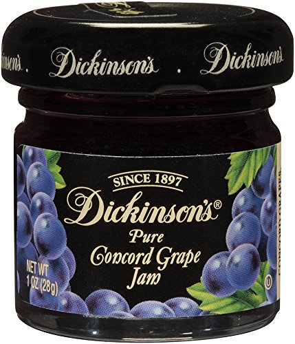(Dickinson's Pure Concord Grape Jam, 72 Count)