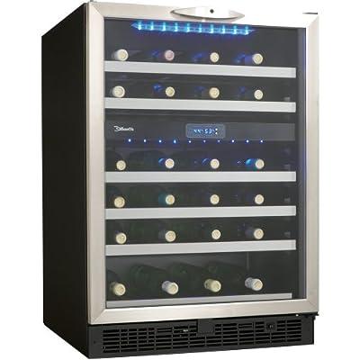 Danby DWC518BLS 5.1 Cu. Ft. 51-Bottle Silhouette Wine Cellar - Black/Stainless