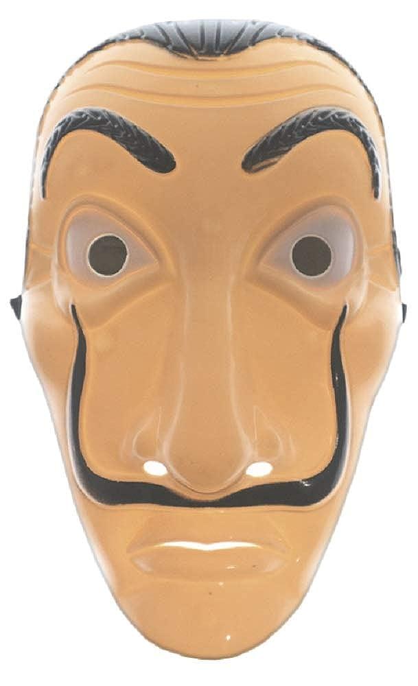 Amazon.com: LINEN TRADERS Face Mask Money Heist/Mascara La Casa de Papel: Clothing