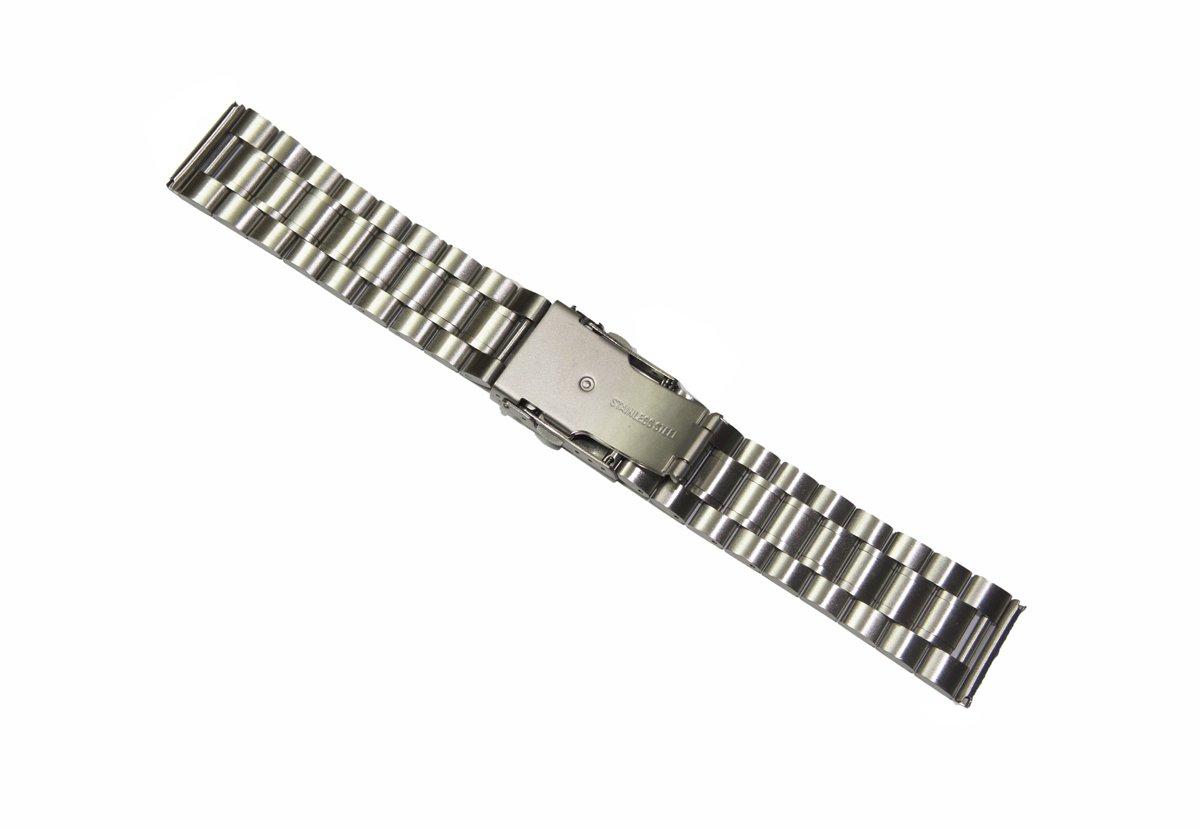 22mm de Metal de acero inoxidable reloj correa de la banda + herramienta para el LG Watch Urbane W150 Plata: Amazon.es: Electrónica