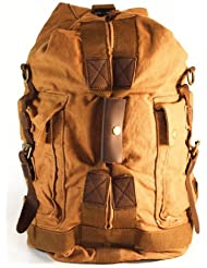 VintageColonial Large Canvas Military Style Backpacks,Messager and Postman Bags(L)