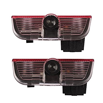 2 x coche puerta sombra láser proyector LED logo luz para ...