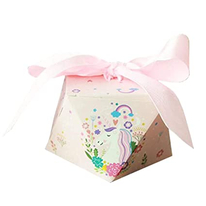 Image Unavailable. Image not available for. Color  50pcs Decorative Treats  Boxes Wedding Party Favor Box Candy Bag ... 3af93eeb28