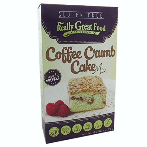 Really Great Food Gluten Free Coffee Crumb Cake Mix 20 oz