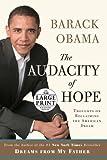 The Audacity of Hope, Barack Obama, 0739328182