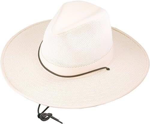 Henschel Crushable Soft Mesh Aussie Breezer Hat