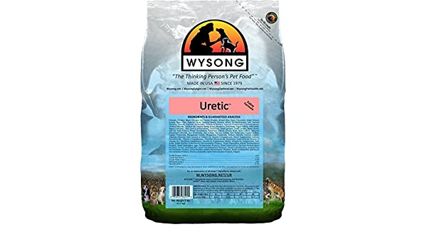Wysong uretic fórmula seco Dieta para Gatos Cat Food: Amazon.es: Productos para mascotas