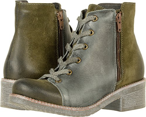 Suede Naot Smoke Vintage Footwear Groovy Olive Oily Leather Womens w060rgX