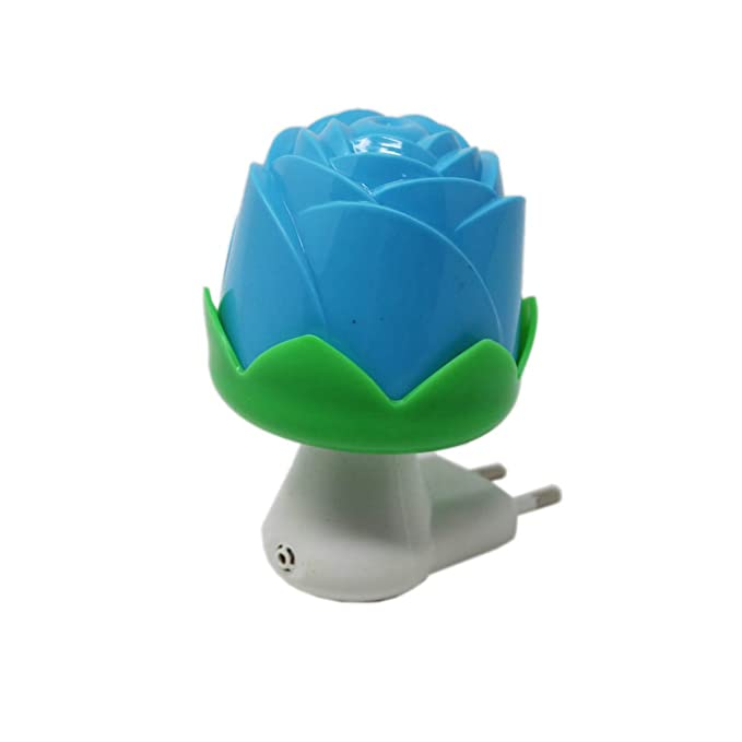 02534f82f17b Buy LED Night Lamp with Sensor Rose - Blue Kids Room Home Decor Energy  Saving Night Light Sensor Light Bed Lamp Online at Low Prices in India -  Amazon.in