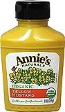 Annie's Naturals Organic Yellow Mustard -- 9 fl oz