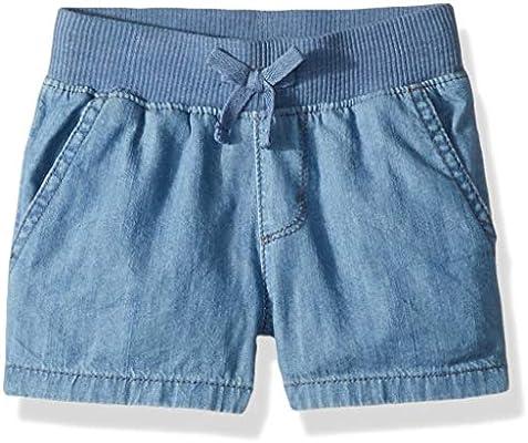 The Childrens Place Big Girls Knit Waistband Short
