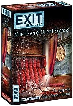 Devir - Exit: Muerte en el Orient Express, Ed. Español (BGEXIT8): Amazon.es: Juguetes y juegos