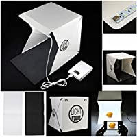 MaoGo Light Room Mini Photo Studio 9 Photography Lighting Tent Kit Backdrop Cube Box