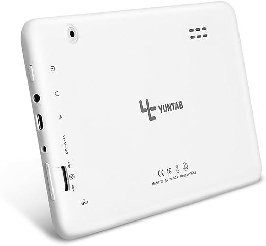 Yuntab T7 Tablet de 7 Pulgadas (Procesador Quad Core,WiFi,Android ...