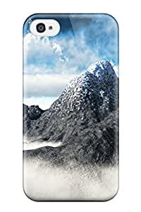 Top Quality Rugged Nature Case Cover For Iphone 4/4s
