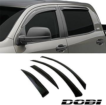 Side Window Wind Deflector Shade Visor Guard For Toyota 04-06 Tundra Double Cab
