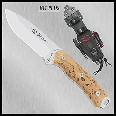 Couteau Miguel Nieto Chaman Kit bouleau 140-ak plus