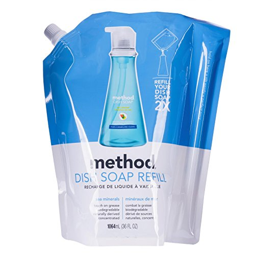 Method Dish Soap Refill, Sea Minerals, 36 Ounce