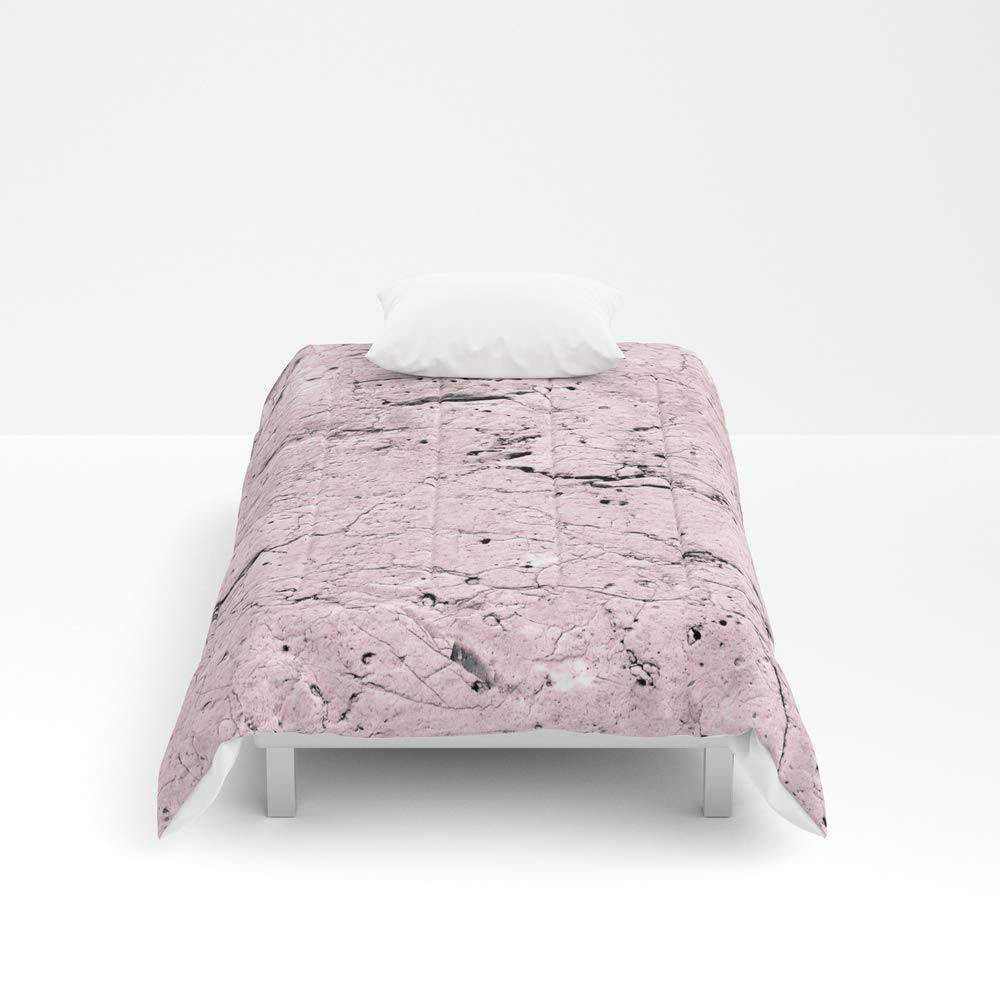 Society6 Comforter, Size Twin XL: 68'' x 92'', Old Stone Wall - Textured I by skaya1