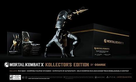 Mortal Kombat X - Édition Kollector Par Coarse [Importación Francesa]: Amazon.es: Videojuegos