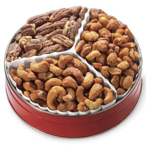 Honey-Roasted Nut Gift Tin from Wisconsin Cheeseman