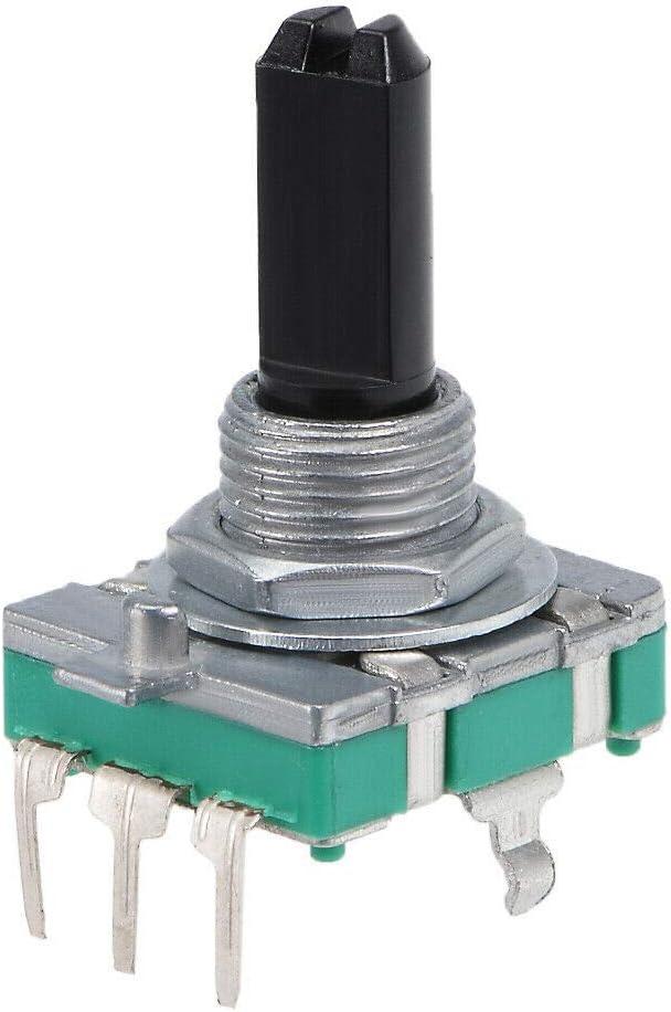 Sensors 360 Degree Rotary Encoder Code Switch Digital EC16 5 Pins 20mm D-Shaft 5Pcs