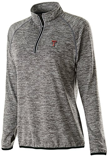 - Ouray Sportswear NCAA Texas Tech Red Raiders Women's Force Training Top, X-Large, Carbon Heather/Black