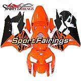 Sportfairings Sportbike Fairing Kit For Honda CBR600RR CBR600 RR F5 2005-2006 Bodywork Injection ABS Orange Black Flames Body Frames