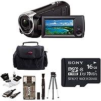 Sony HDR-CX440/B (HDRCX440 HDRCX440B) Full HD 60pVideo Recording Handycam Cam...