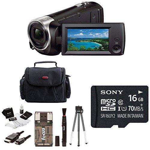 Sony Full HD Video Recording HDRCX440/B Handycam Camcorder w