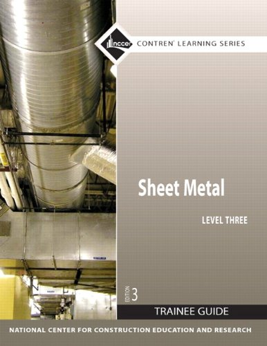 Sheet Metal Level 3 Trainee Guide, Paperback (3rd Edition)
