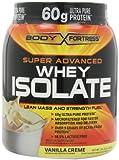 Body Fortress Super Advanced Whey Isolate, Vanilla Creme, 2 Pounds